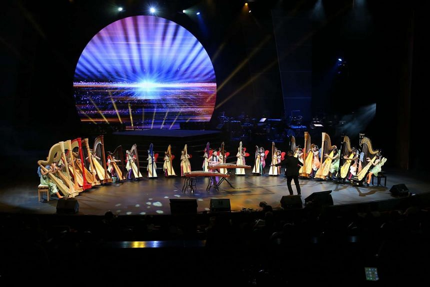 More than 170 young performers impressed in a filled theatre at Resorts World Sentosa during ChildAid 2016.