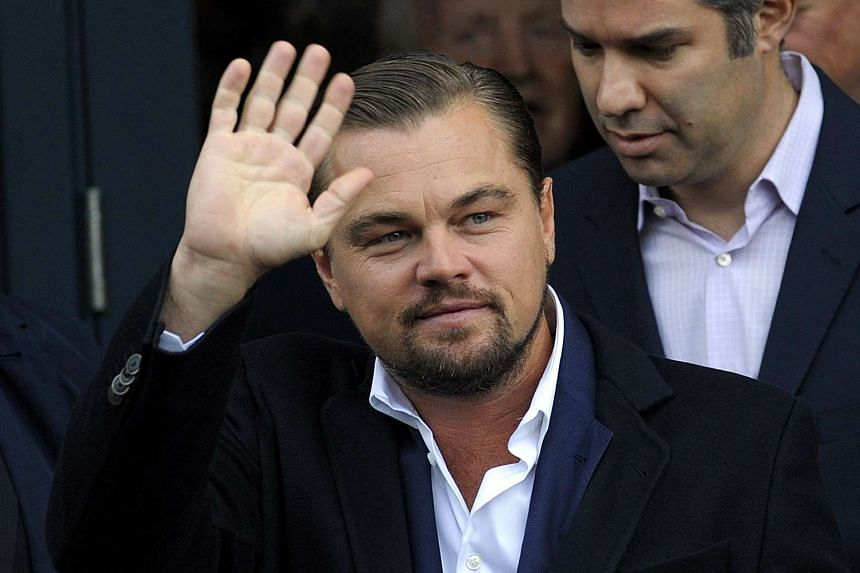 Oscar-winner Leonardo DiCaprio