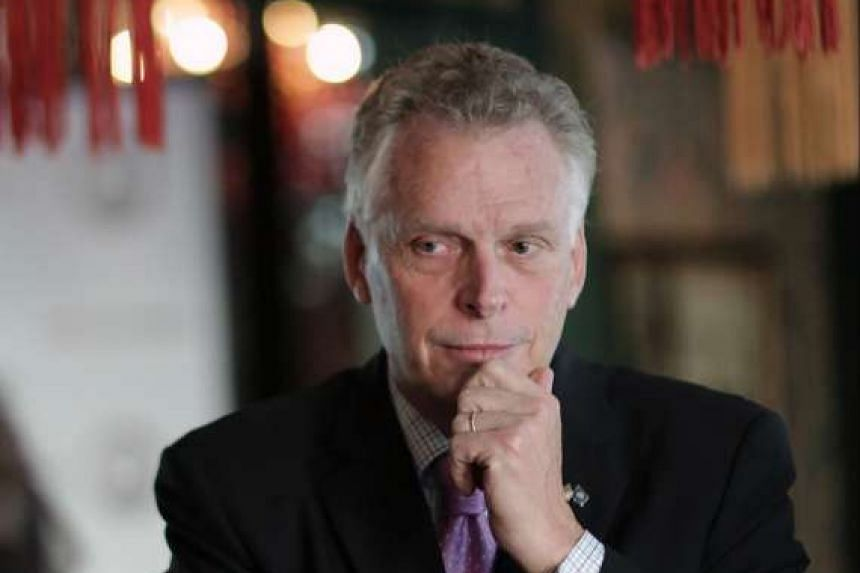 Mr McAuliffe (above) said it was a combination of several factors that pushed Mr Trump to victory, including the one involving the FBI director's letter to Congress that impacted voter turnout for Mrs Clinton.