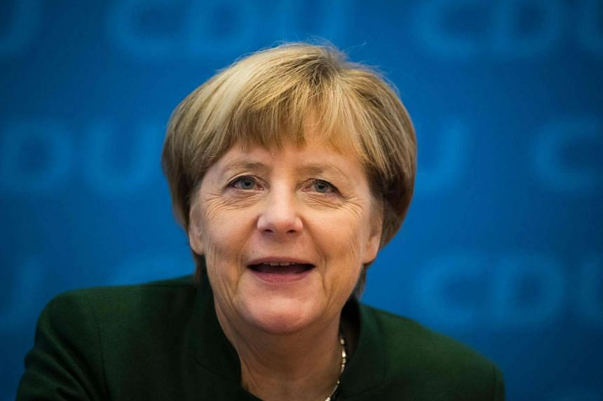 German Chancellor Angela Merkel reportedly told her party that she will run for a fourth term in office.