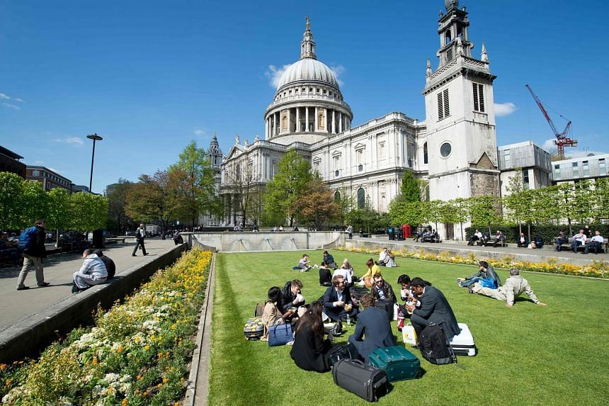 Fly to London on British Airways, with fares that start at $1,218, and visit St Paul's Cathedral.