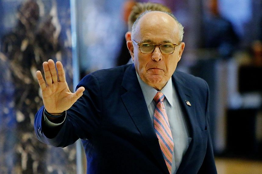 Mr Giuliani, hailed and honoured for rallying the nation after the 9/11 attacks, has since turned into a far more divisive figure.