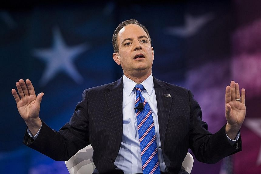 As chief of staff, Mr Priebus will be in charge of day-to-day operations at the White House.