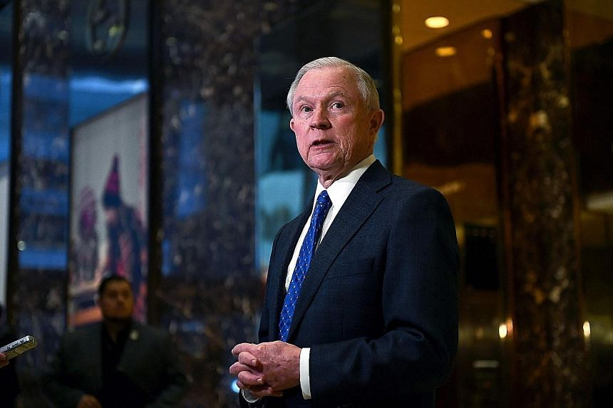 Mr Sessions is said to have made offensive remarks, like referring to an official using the N-word, but he said he is not a racist.