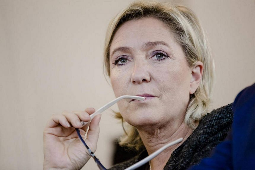 Marine Le Pen, French far right party leader, in Paris on Oct 20, 2016.
