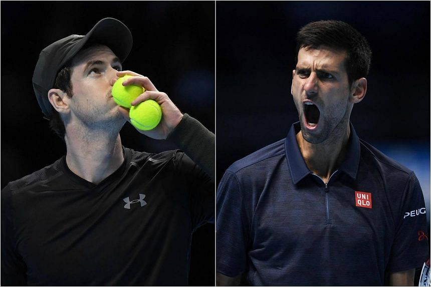 Andy Murray and Novak Djokovic will slug it out for the world number one ranking in a high-stakes final at the ATP Tour Finals.