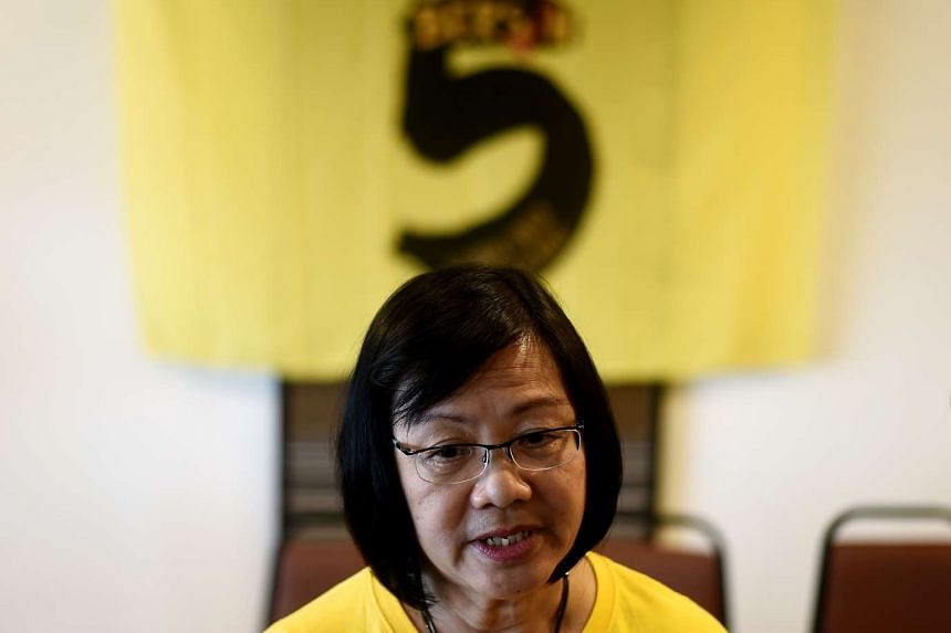Ms Maria Chin Abdullah, chairperson of the coalition of Malaysian NGOs and activist groups known as Bersih. She was one of more than a dozen people who were arrested during a crackdown on the anti-government rally.