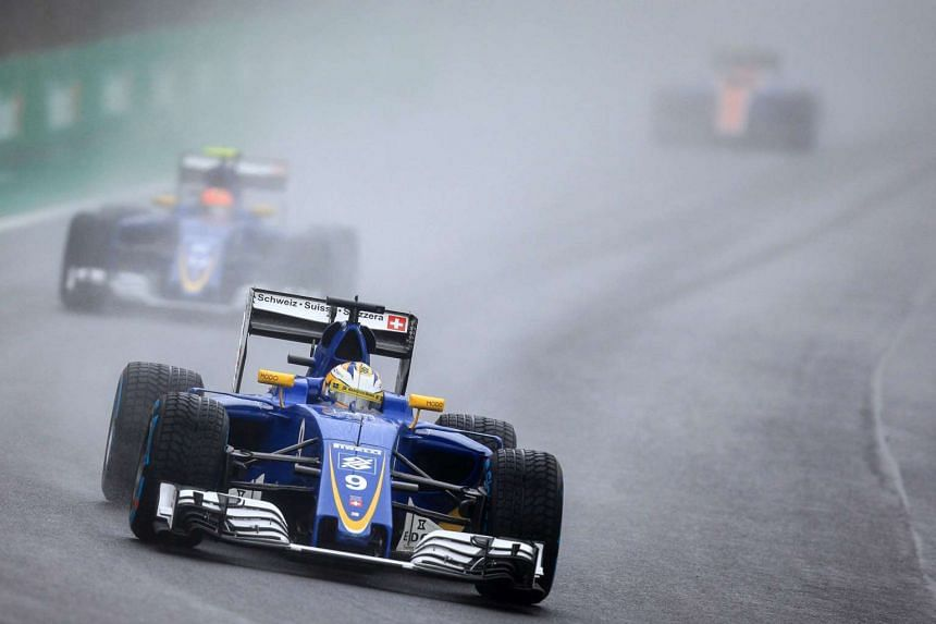 Swedish Formula One driver Marcus Ericsson, of Sauber in action during the Formula One Grand Prix of Brazil, at Interlagos race track in Sao Paulo on Nov 13, 2016.