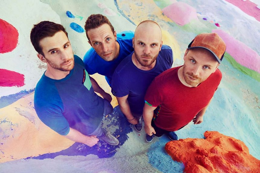Coldplay's (from left)  Guy Berryman, Chris Martin, Will Champion and Jonny Buckland.