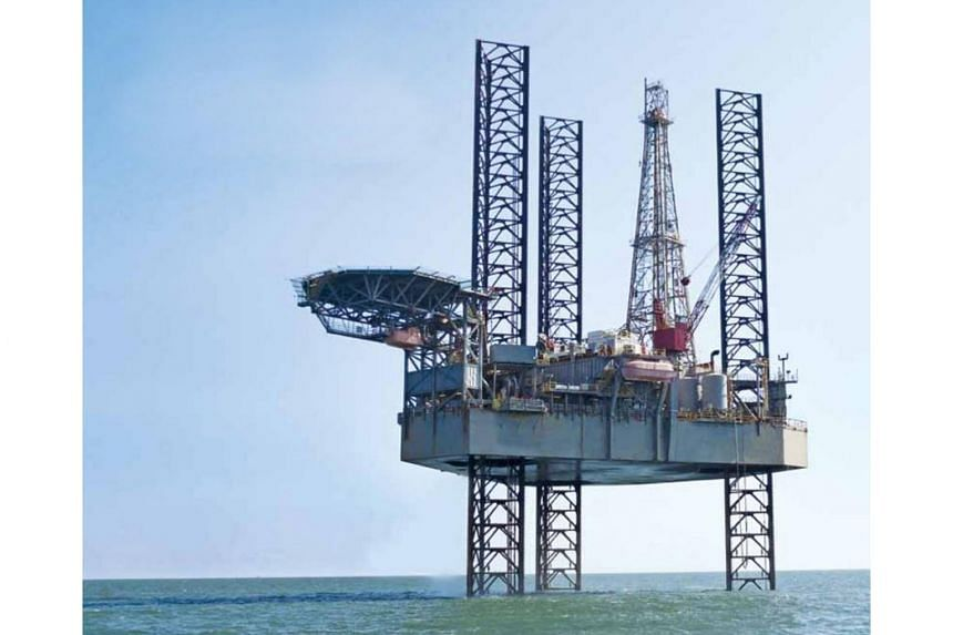 Swissco Holdings' offshore oil rig.
