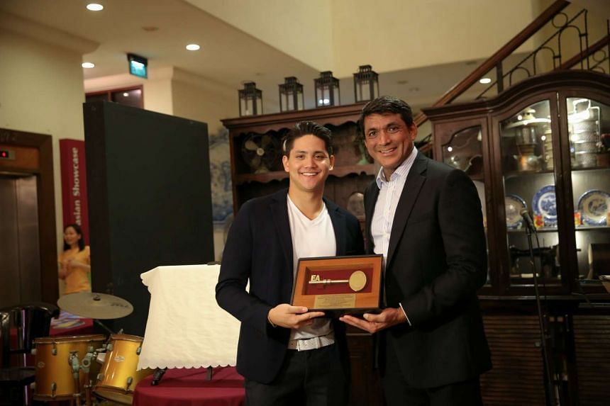The Eurasian Association confers Joseph Schooling the title of the Visitor of the Eurasian Community House and announces the Joseph Schooling Sports Scholarship on Nov 21, 2016.