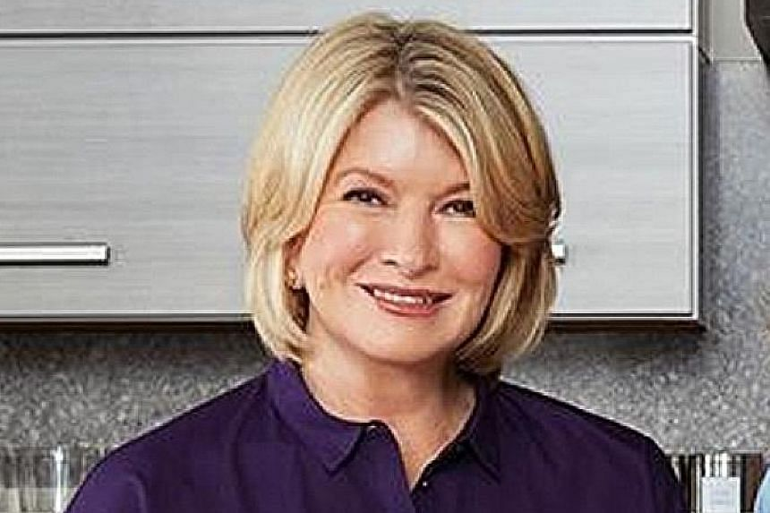 Martha Stewart (above) has teamed up with Marley Spoon to offer meal kits.