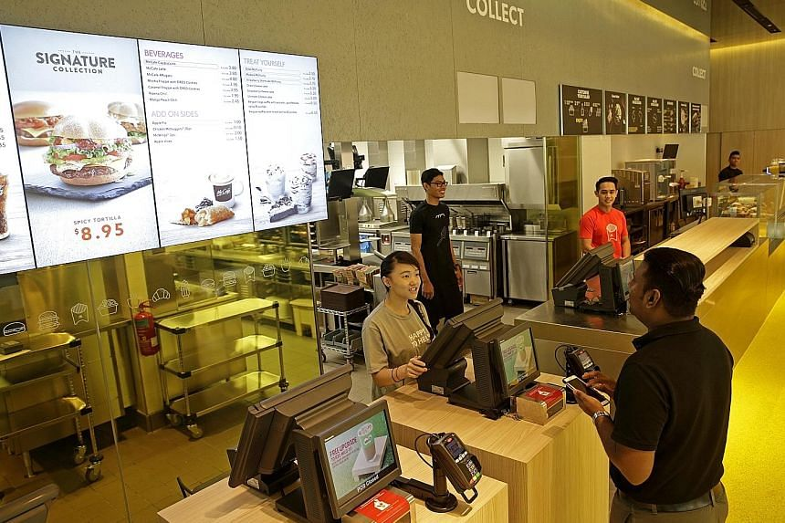 International chains like McDonald's as well as local chain BurgerUp have invested in technology such as self-ordering food kiosks that help streamline services and reduce the dependence on staff. Besides technology, the fast-food industry has also t