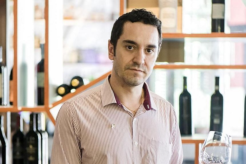 Learn to cook Mediterranean dishes such as baked salmon fillet with lemon almond crust and beetroot at a workshop, watch Italian film The Feast (2007) and learn about the history of wine with Dr Michele Agostini (above).