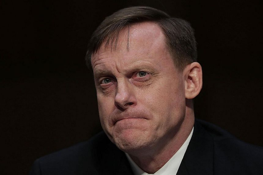 The idea to remove Adm Rogers was driven by breaches during his time at NSA and his leadership there.