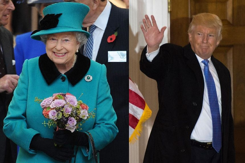 A state visit would involve Mr Trump meeting Queen Elizabeth II, with a visit to one of her residences, which include Buckingham Palace in London and Windsor Castle.