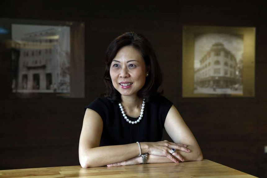 Ms Lam, OCBC Bank's head of global corporate banking, says that she draws on her background as a relationship manager to engage her team, working closely with them to pursue a common goal.