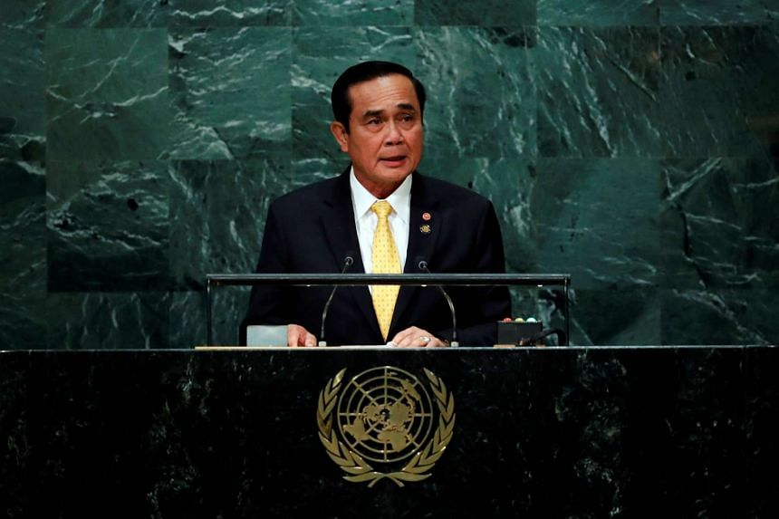 """General Prayut Chan-o-cha said the move would be a """"stimulus to the economy that would trigger more spending""""."""