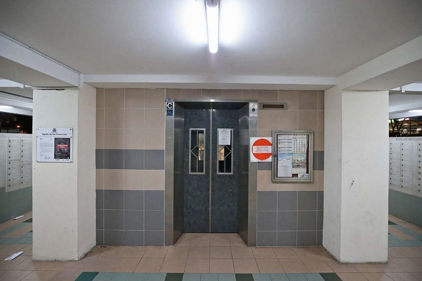 A 65-year-old Boon Lay resident hurt her leg last Tuesday (Nov 15) when the lift at Block 207, Boon Lay Place, plunged unexpectedly.