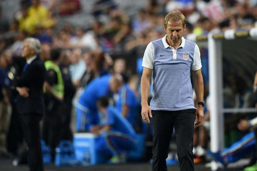 Jurgen Klinsmann during the Copa America Centenario third place football match against Colombia on June 25, 2016.