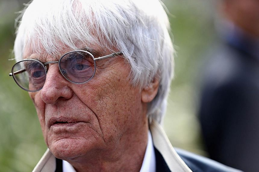 """Mr Ecclestone told The Straits Times that F1's stand """"is to hopefully continue in Singapore"""". The Singapore Grand Prix (left) has established itself as a firm fan favourite since the inaugural edition in 2008. Singapore's current deal with F1 expires"""