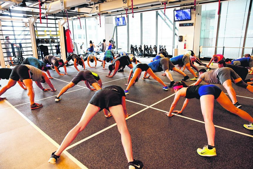 More people are attending group training classes to socialise and get fit together. These classes are gaining popularity as they are designed to be effective for people with different fitness levels.