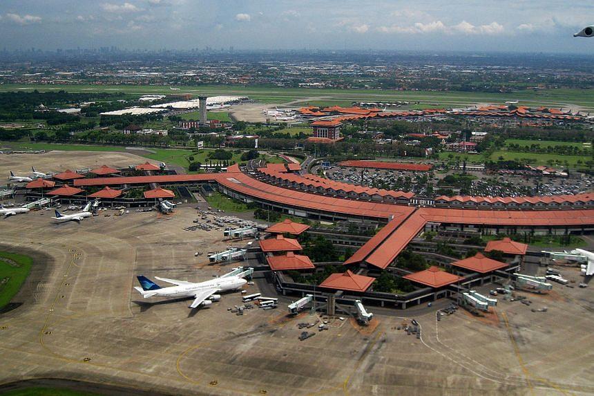 An aerial view of Jakarta's Soekarno-Hatta International Airport taken on Feb 1, 2010.