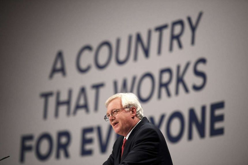 Brexit minister David Davis held his first talks on Monday with the European Commission's top negotiator Michel Barnier on how to tackle Britain's divorce from the EU.