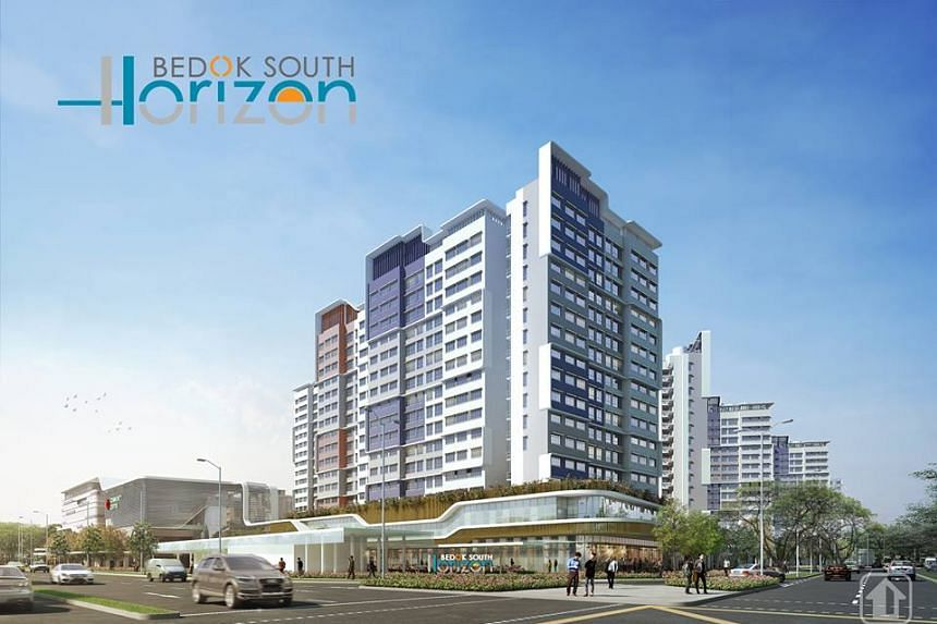 Bedok South Horizon will have 209 2-room Flexi flats, 457 4-room flats, and 274 5-room flats. It will be well connected to equipped with facilities for all to enjoy.