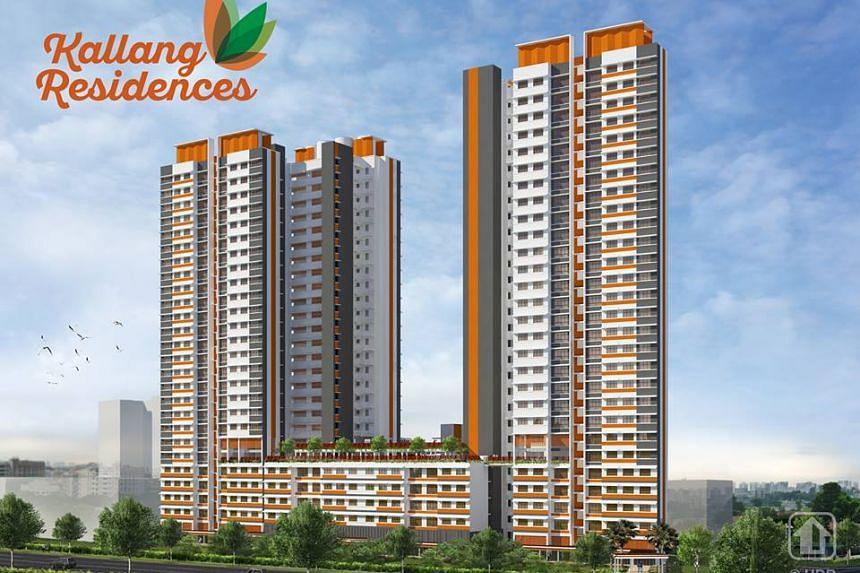 Kallang Residences will have 85 3-room flats and 158 4-room flats, located near Kallang MRT station. Its two roof gardens will be a vantage point for everyone to enjoy a view of the city.