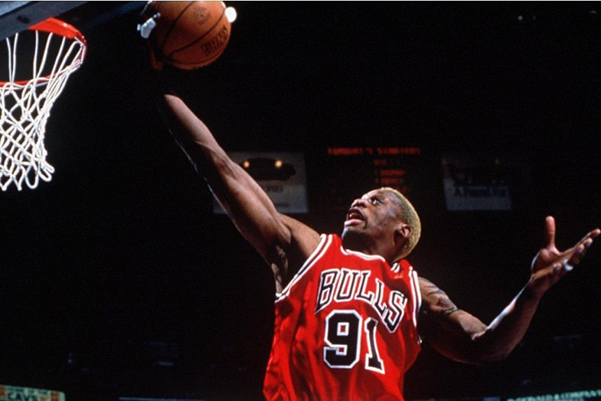 Former NBA star Dennis Rodman was charged with hit and run and property damage on Monday.