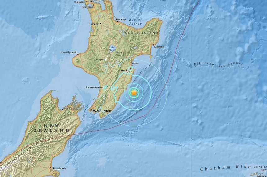 An earthquake of 6.3 magnitude struck off New Zealand's Northern Island on Tuesday (Nov 22).