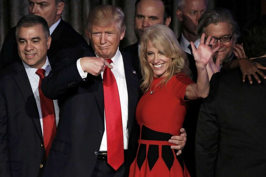 US President-elect Donald Trump's campaign strategist Kellyanne Conway has defended his tweets, such as those compelling the cast of the show, Hamilton, to apologise to Vice President-elect Mike Pence.