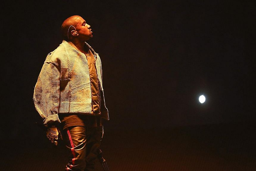 Kanye West, seen above at his Saint Pablo tour in Indianapolis in August, is apparently dealing with sleep deprivation.