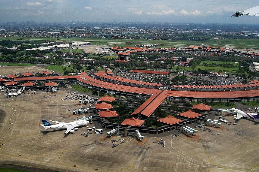 An aerial view of Jakarta's Soekarno-Hatta International Airport in 2010. Aside from SIA, no other airline has issued statements on being affected by the runway maintenance.