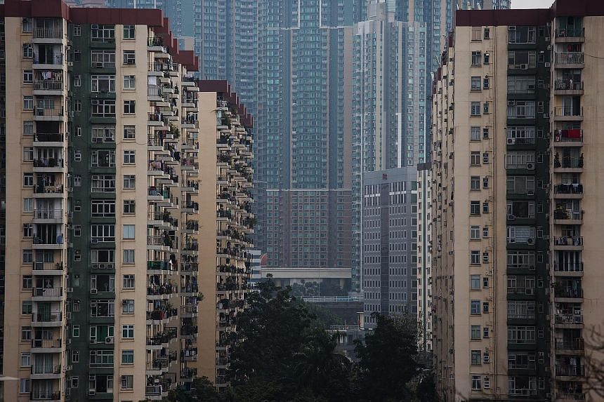 The government wants to build new towns in the north of the New Territories and on reclaimed land.
