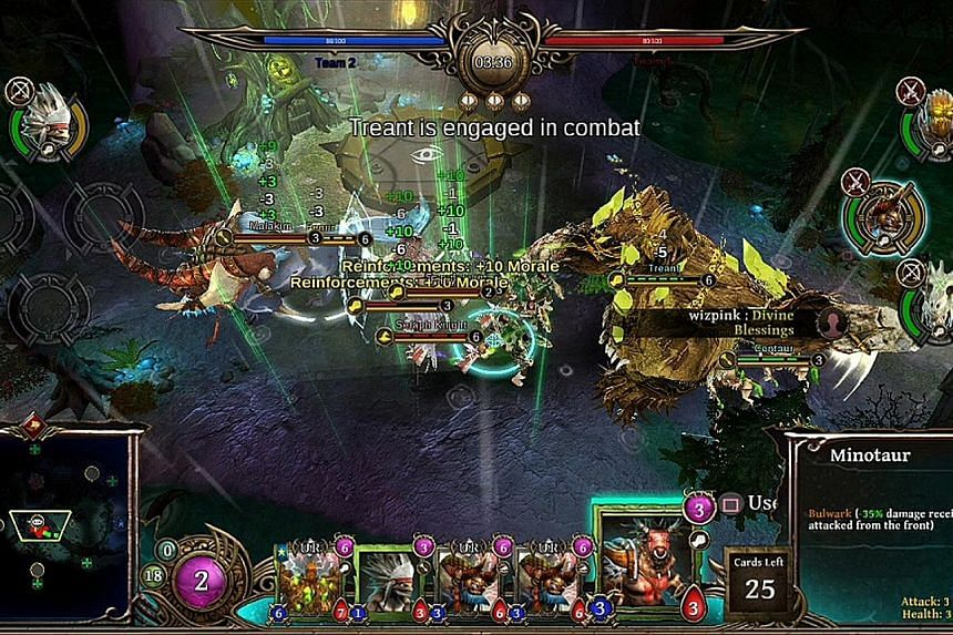 Each element in ArmaGallant, a deck-building, real-time strategy game, has its own unique synergies, combos and play style.