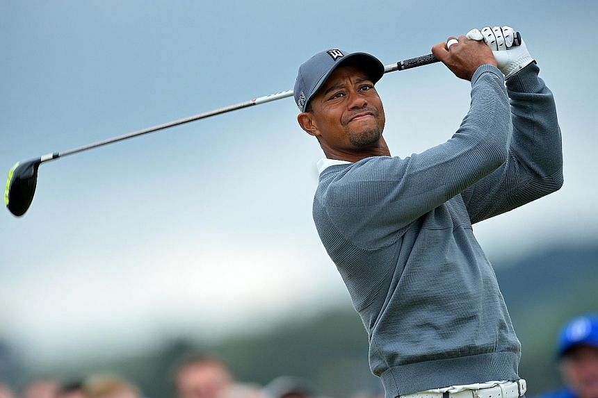 Tiger Woods at last year's British Open, where he missed the cut. He aborted a planned comeback at last month's Safeway Open and is targeting next month's Hero World Challenge, which he hosts.