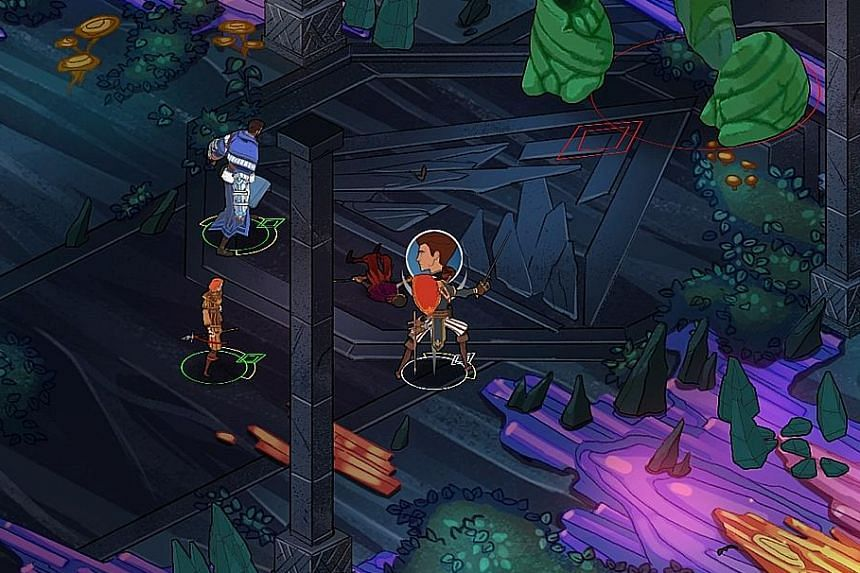Combat in Masquerada is a start-stop affair as you often have to pause the game to issue commands to your characters.