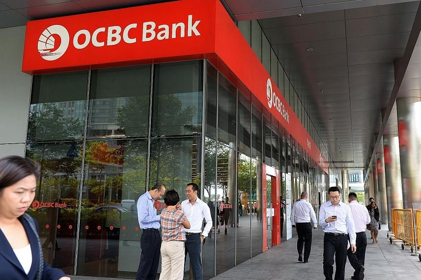 The schemes include (clockwise from above) OCBC's Business Growth Account, Maybank's BizMortgage Plus and Hong Leong Finance's SME Care.