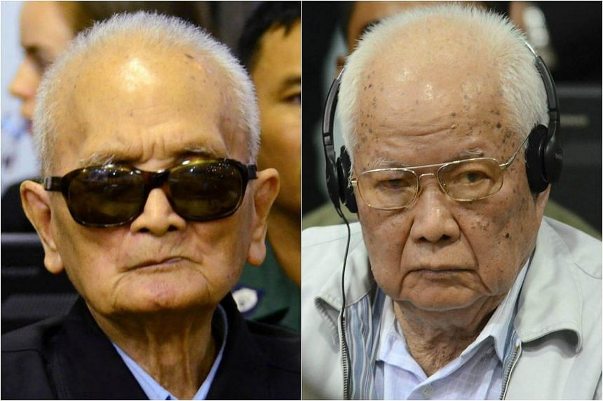 Cambodia's UN-backed court upheld life sentences for two top former Khmer Rouge leaders, Nuon Chea and ex-head of state, Khieu Samphan, on Wednesday (Nov 23) for crimes against humanity.