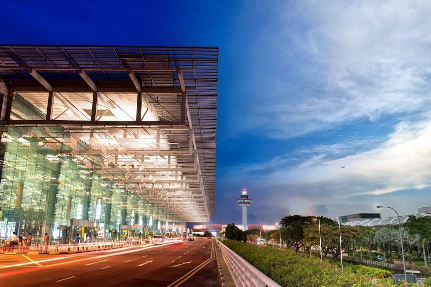 Singapore's Changi Airport sits at one end of four of the world's 10 busiest international air routes.