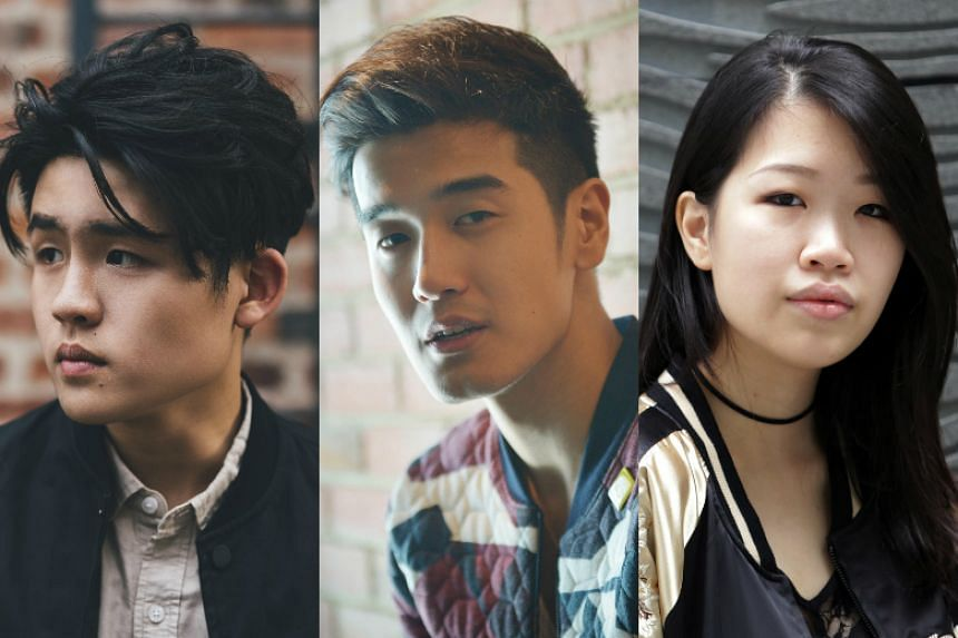 Singaporean pop music from acts such as Gentle Bones (left), Nathan Hartono (centre) and Linying will reach American audiences who subscribe to the Internet radio service Pandora.
