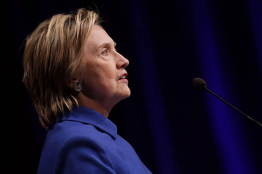 Former Secretary of State Hillary Clinton delivers remarks while being honored during the Children's Defense Fund's Beat the Odds Celebration at the Newseum on Nov 16, 2016 in Washington, DC.