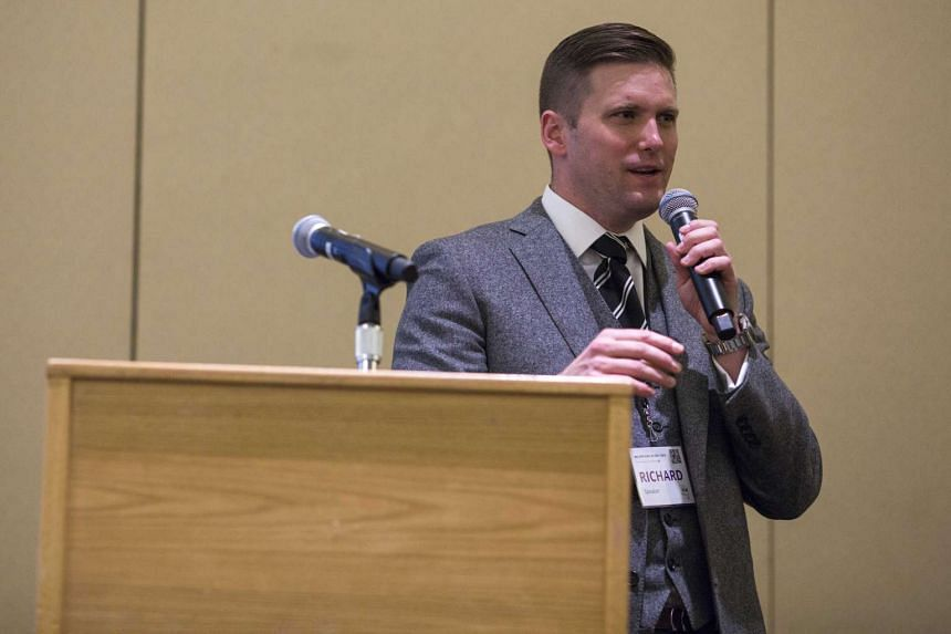 Mr Richard Spencer, one of the alt-right movement's most prominent informal leaders.
