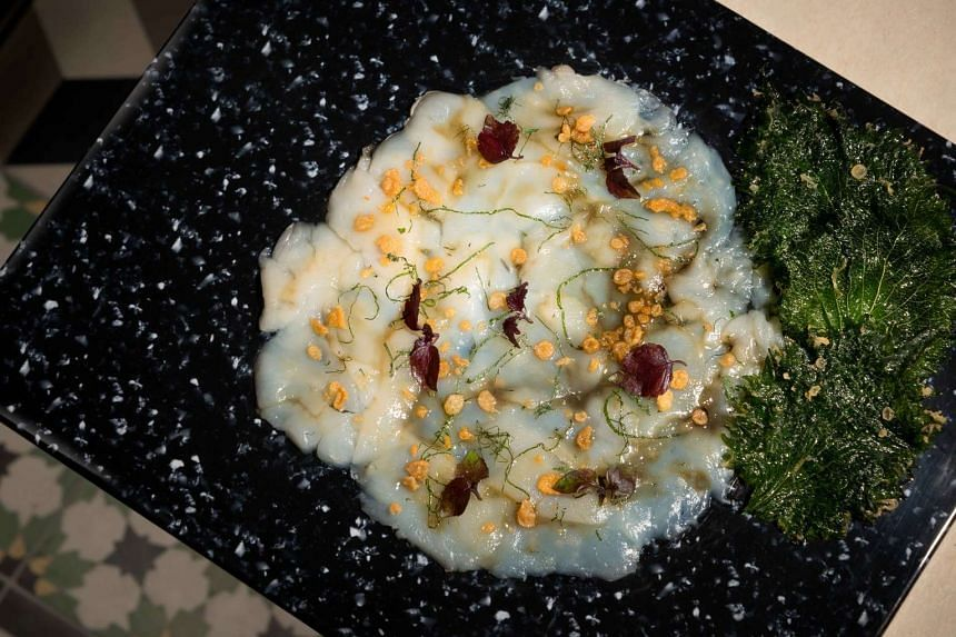 The Simply Scallop starter from Beast & Butterflies is Hokkaido scallop carpaccio with a yuzu and ginger marinade.
