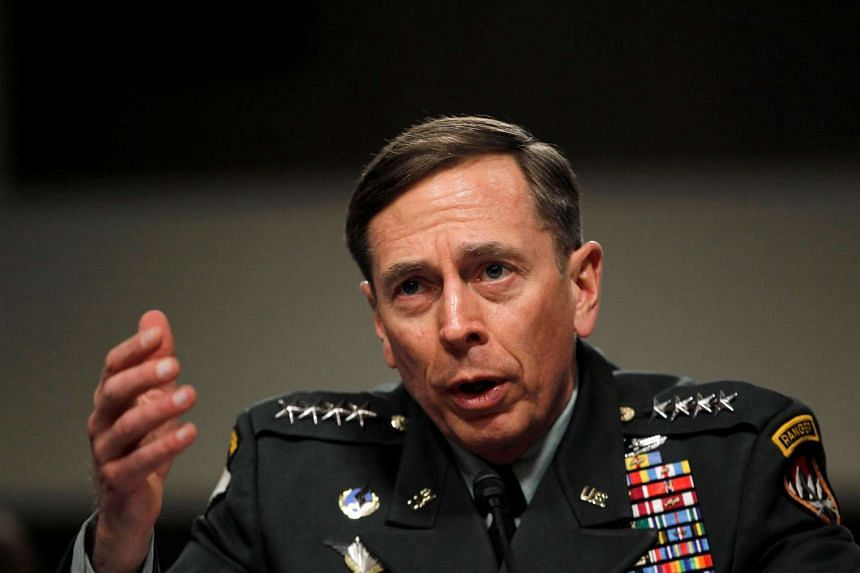 Petraeus (above, in 2011) has been mentioned as a possible contender for secretary of state.