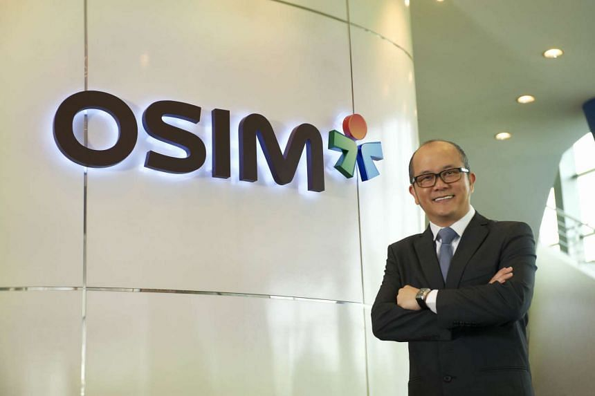 Mr Ron Sim, founder, chairman and chief executive of Osim International.