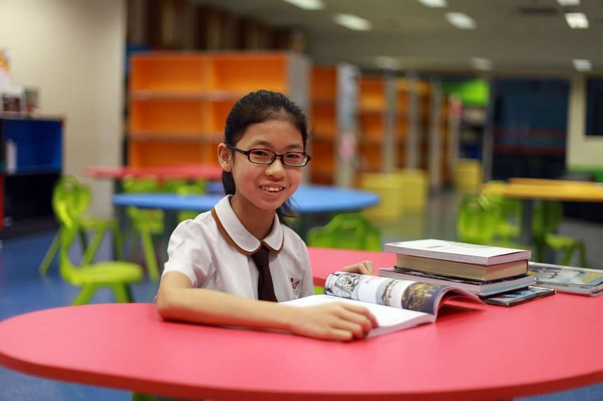 When Julia Wong, 12, first entered primary school, she had difficulties reading and writing in English and would often fail her English assessments.