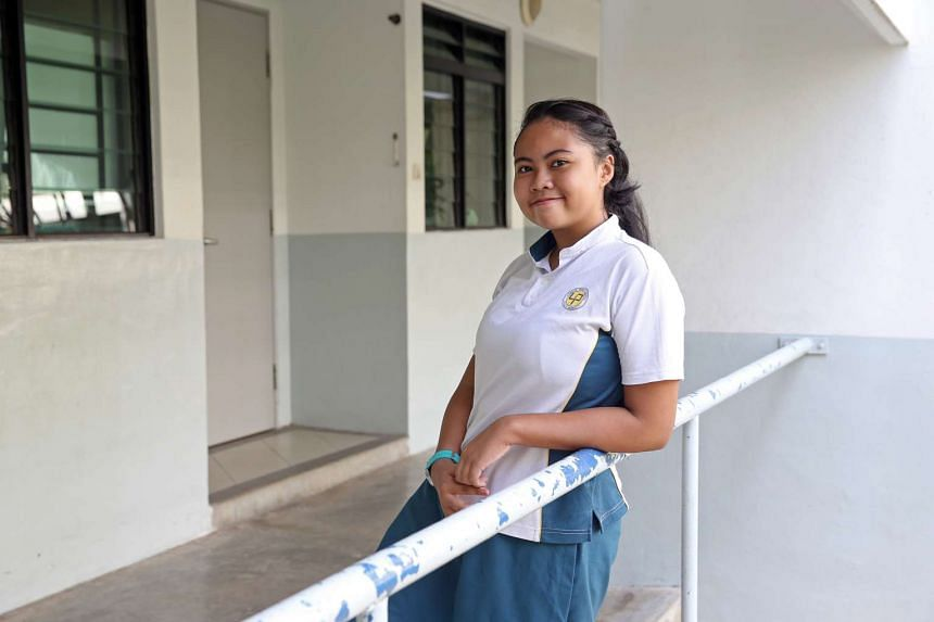 Putri Lydia Hemamalini, 12, lost her father to chronic obstructive pulmonary disease just nine days before she took her first Primary School Leaving Examination paper.